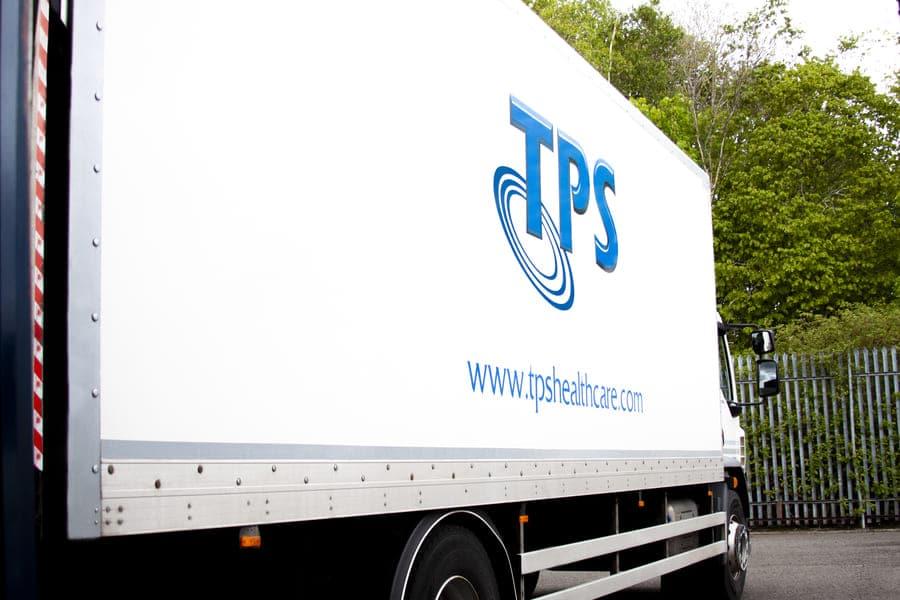 TPS Healthcare Truck Image