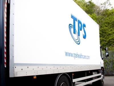 TPS Healthcare Truck